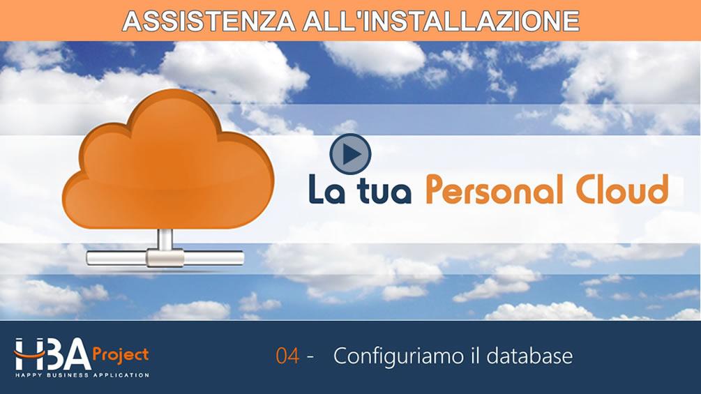 Video-guida Installazione (B): Creare il database di HBA Project con Cpanel
