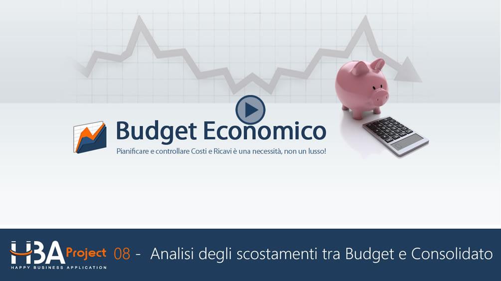 Budget Economico: analisi degli Scostamenti